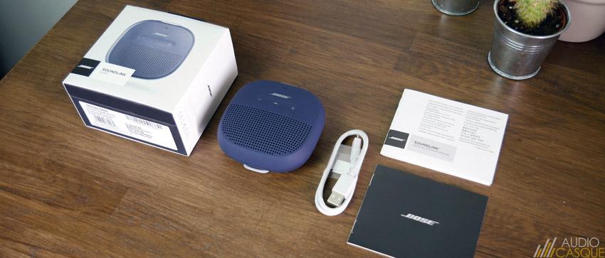 Unboxing de la SoundLink Micro de Bose