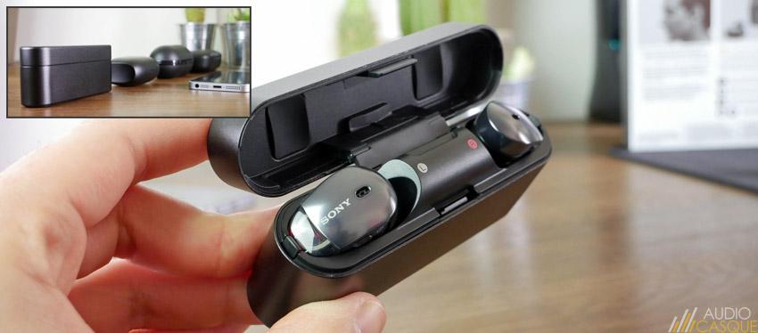 Etui pour recharger les écouteurs sans-fil