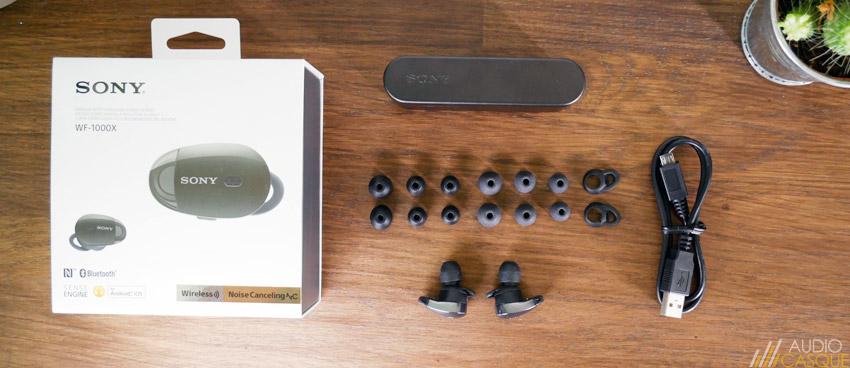 Unboxing Sony WF-1000X