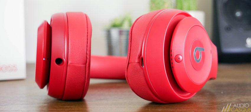Commandes et connectique du casque Bluetooth de Beats