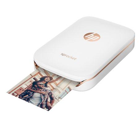HP Sprocket - La meilleure imprimante portable pour ses photos