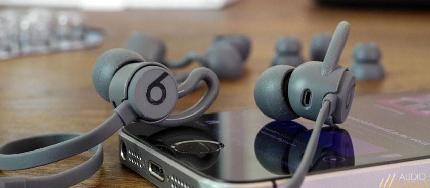 Qualité audio des écouteurs Beats by Dre BeatsX