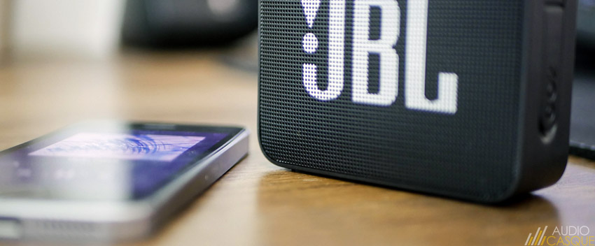 Qualité audio de la JBL GO 2