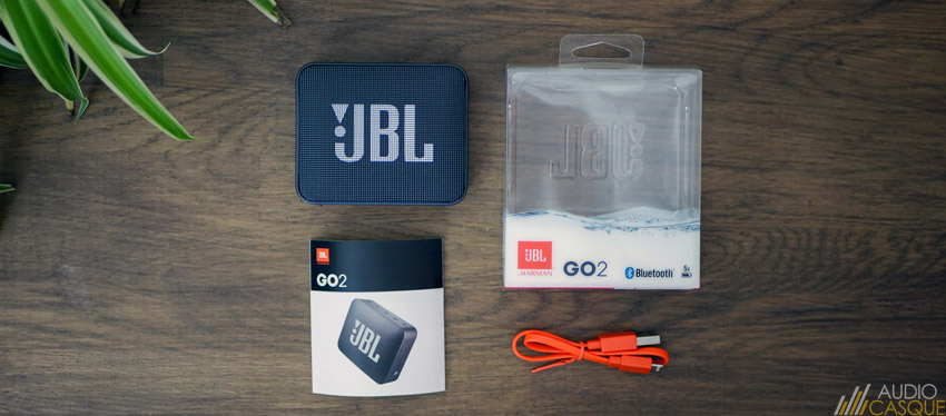 Unboxing de la JBL GO 2