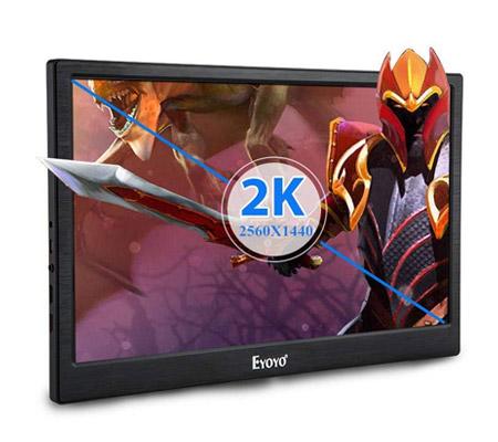 Moniteur portable avec résolution 2K