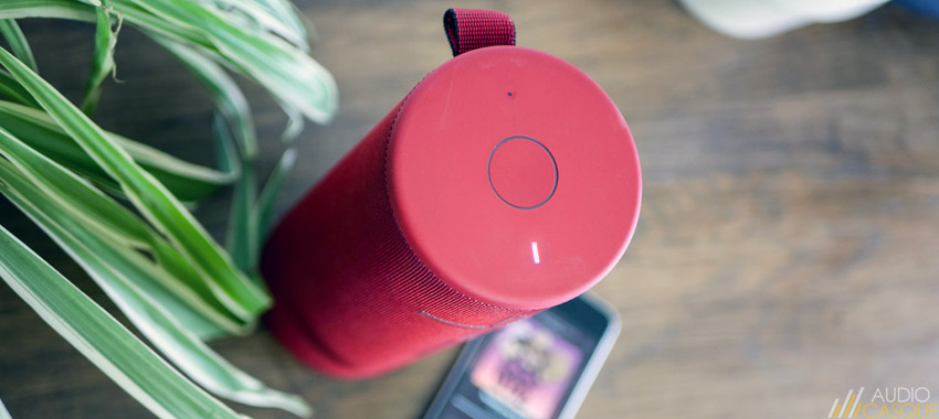 Qualité audio de l'enceinte Ultimate Ears Megaboom 3