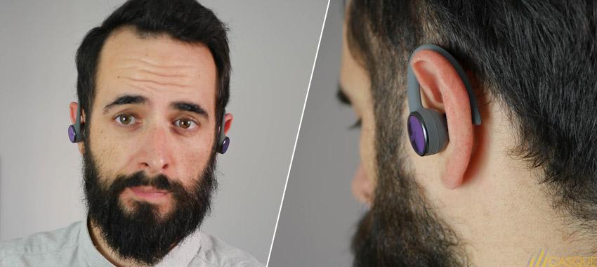 Confort des écouteurs Plantronics