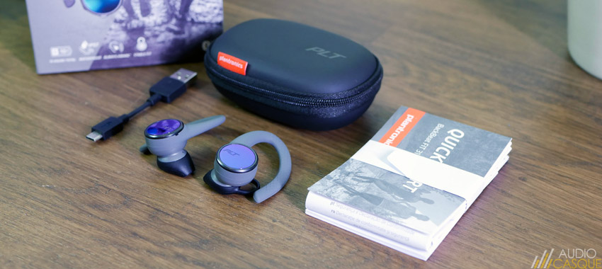 Unboxing des Plantronics BackBeat FIT 3100
