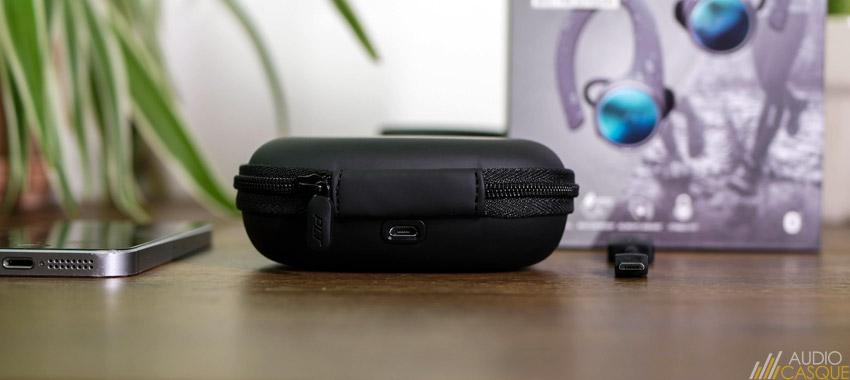 Boitier de recharge pour écouteurs