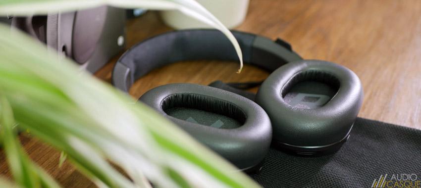 Mousse à mémoire de forme sur Backbeat Go 810