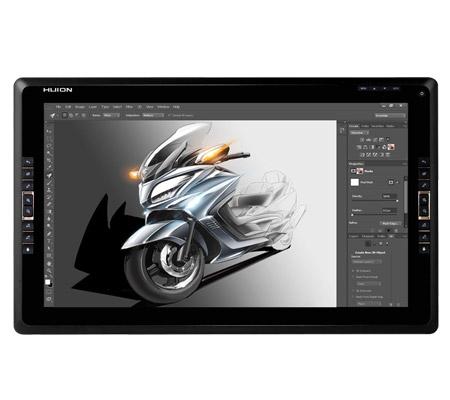 Grande tablette graphique avec écran