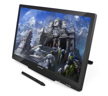 Un tablette avec moniteur pour le dessin numérique - Huion GT-220 V2