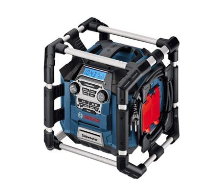 Bosch GML 20 - La meilleure radio de chantier