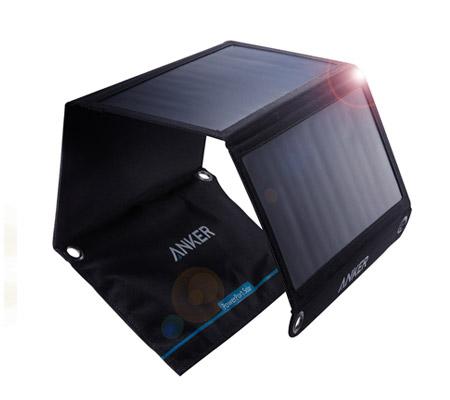 Panneaux solaires portables et USB