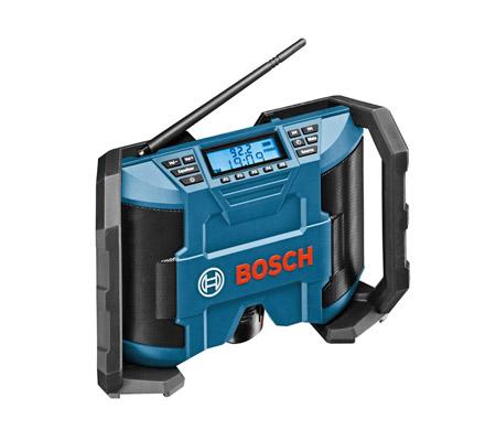 Une petite radio de chantier pour les travaux