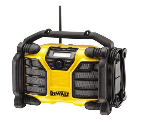 Radio de chantier DeWalt - Le comparatif