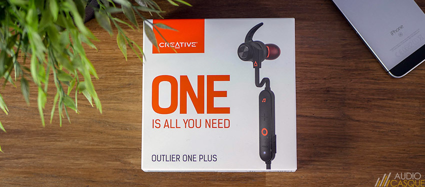 Ecouteurs Creative Outlier One Plus