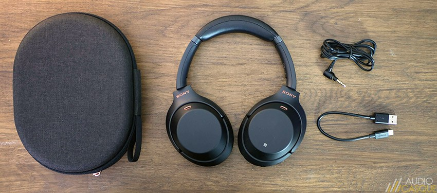 Unboxing Sony WH-1000XM3