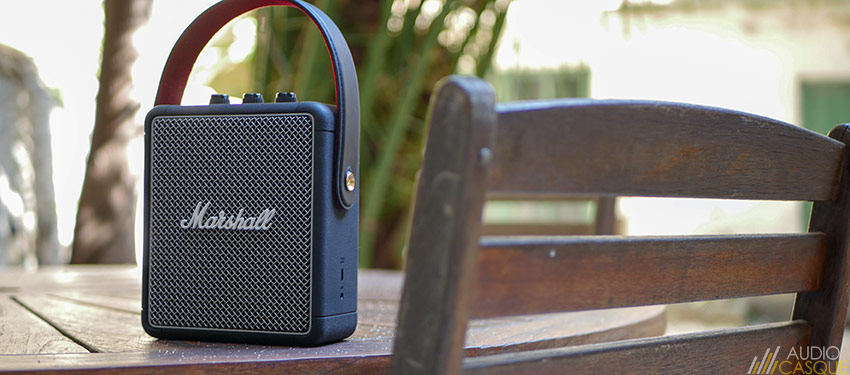 Marshall Stockwell II - Une enceinte bluetooth qui a le style !