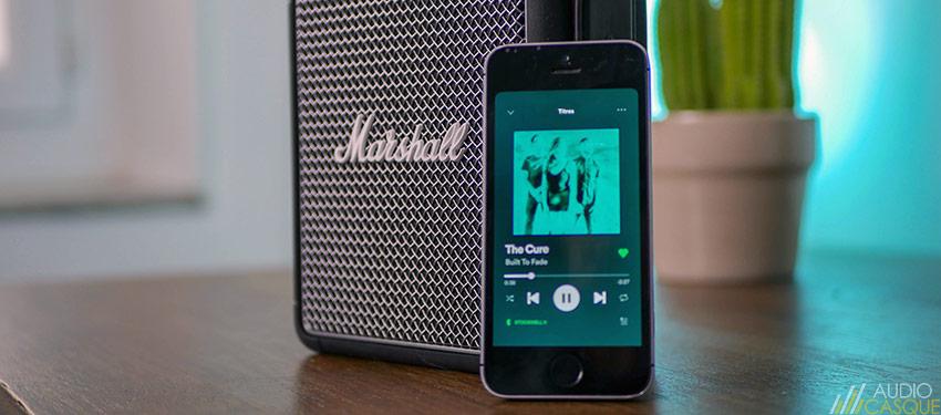 Qualité audio de la Marshall Stockwell II