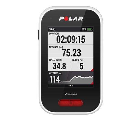 Polar V650 - Un GPS taillé pour le cyclisme
