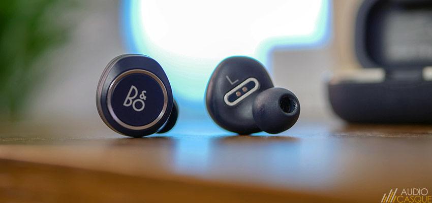 Les écouteurs de B&O se gèrent de manière tactile