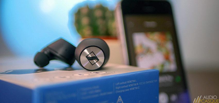 Ecouteurs Bluetooth compatibles aptX