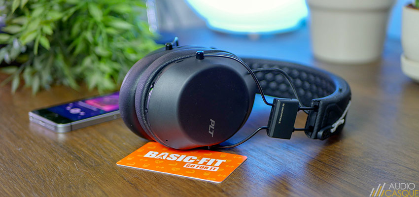 Qualité audio du Plantronics Backbeat FIT 6100